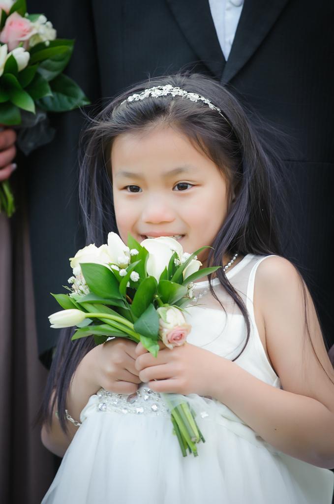 flower girl chinese