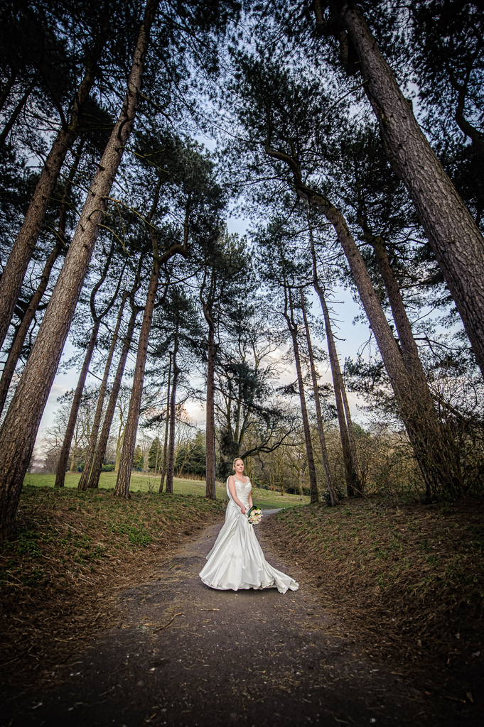 bride in trees liverpool