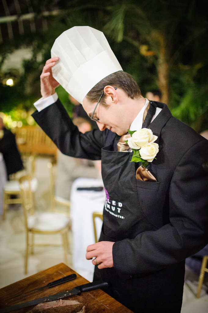 carve your own wedding breakfast