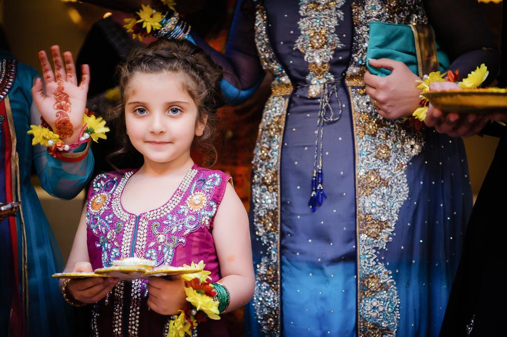 Manchester Mehndi girl in sari
