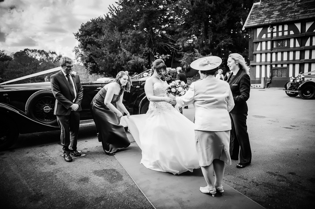 Bramall Hall Wedding, documentary photography