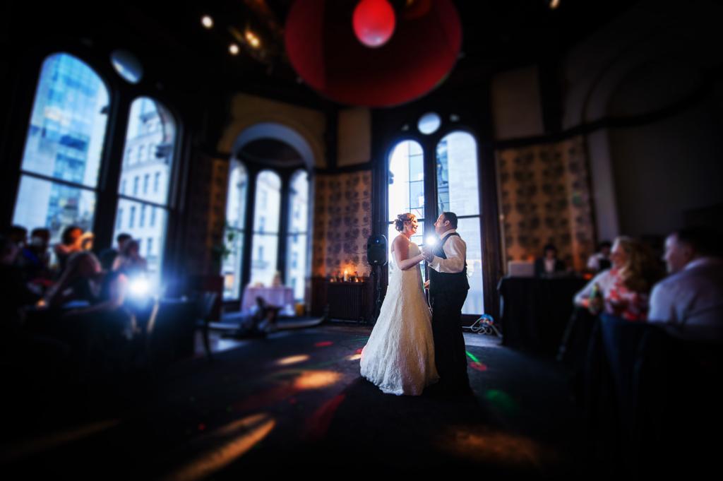 Manchester wedding first dance