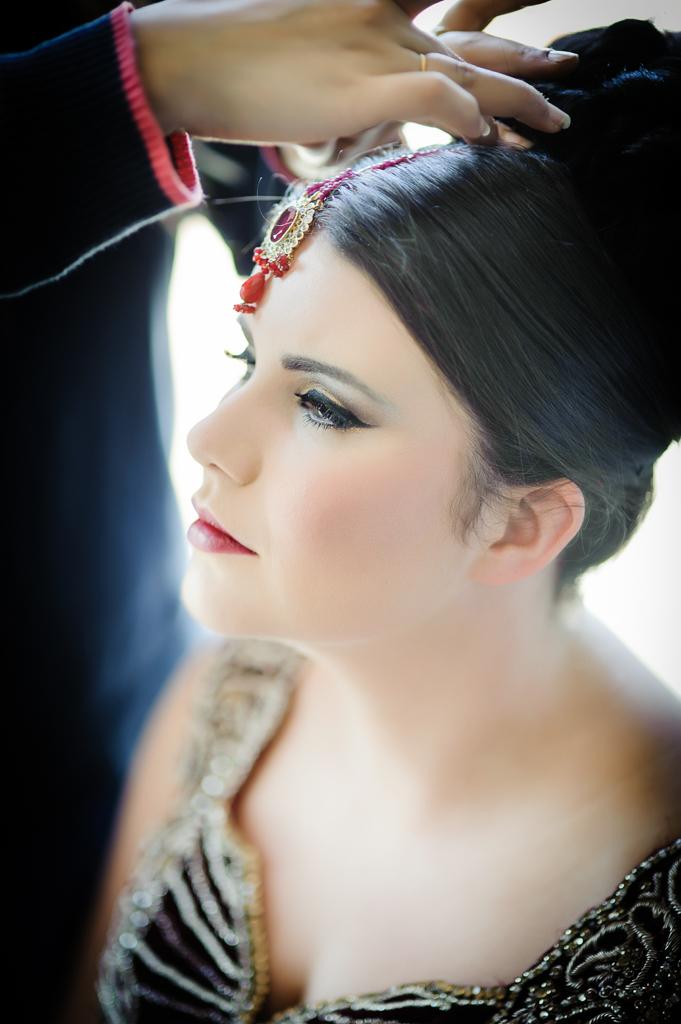 Walima Manchester english bride