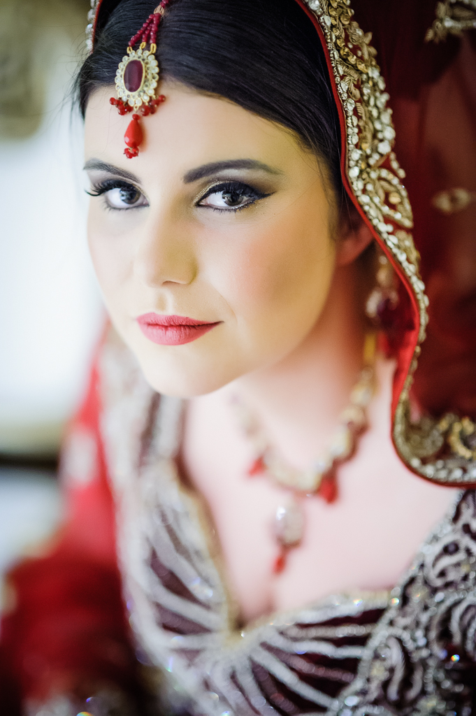 walima bridal portrait