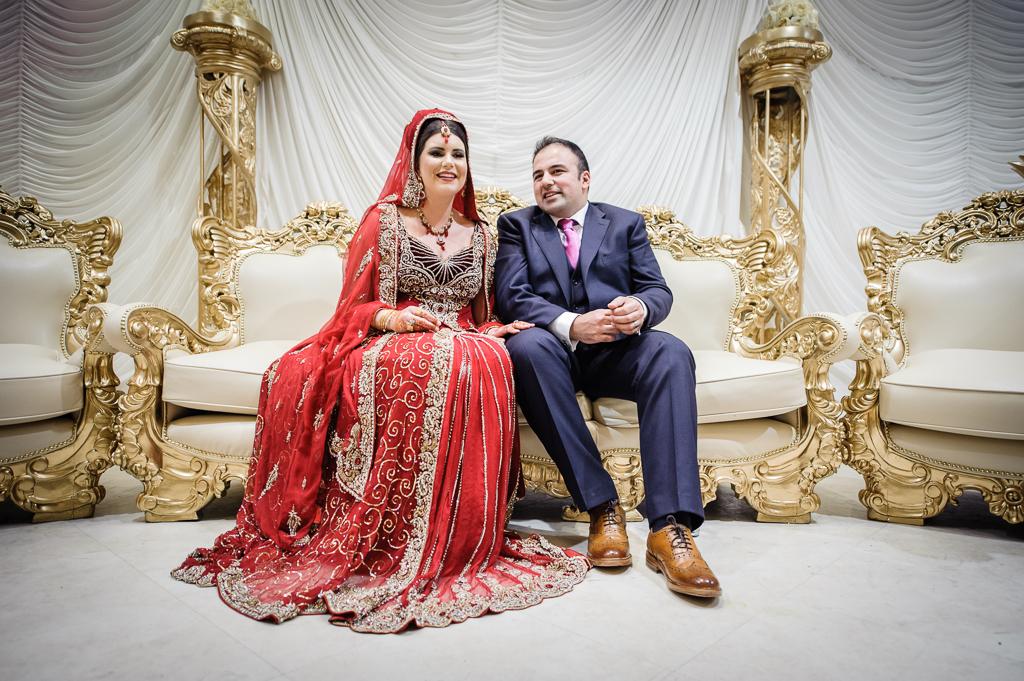 Manchester English Asian Wedding nawaab