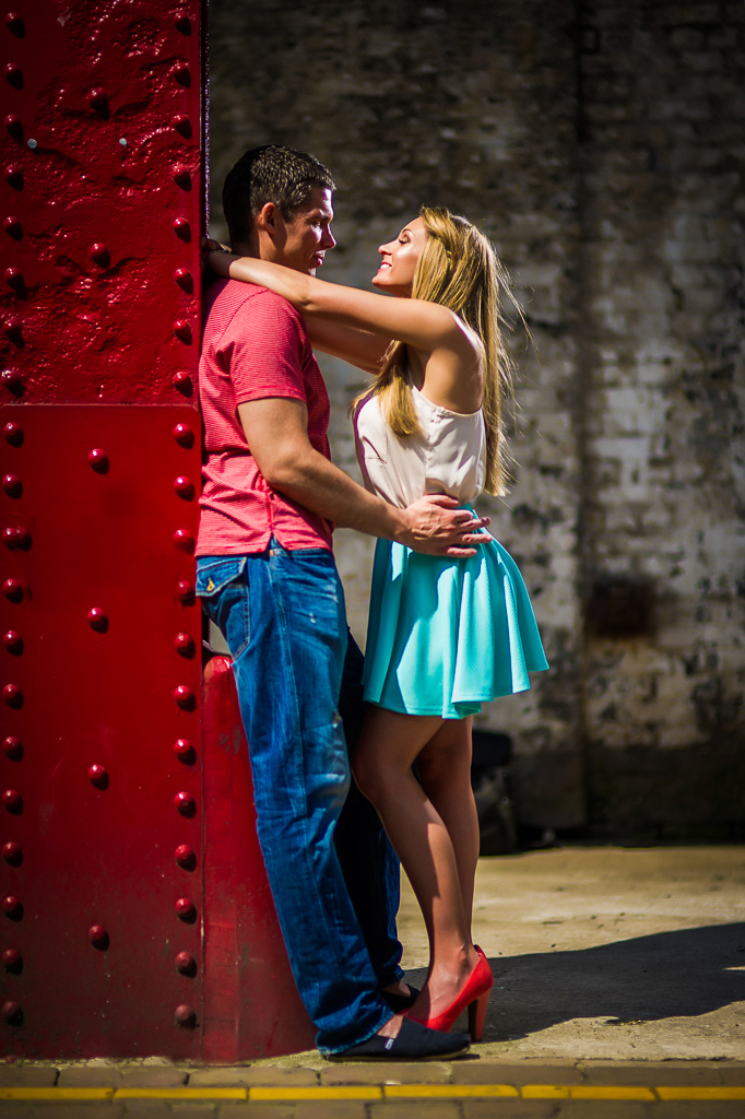 bright colourful couple photography