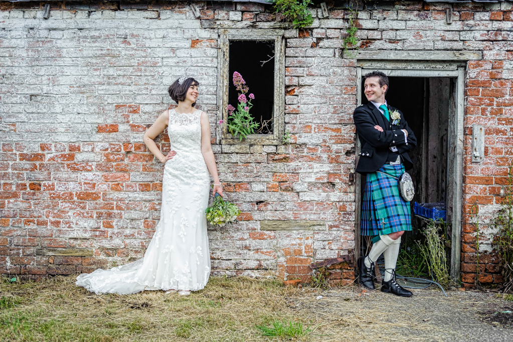 Wentbridge House 'kilt' Wedding • 2013