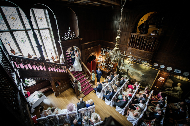 Langdale Chase Wedding ceremony