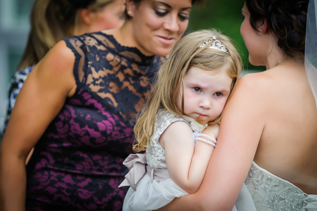 grumpy flower girl