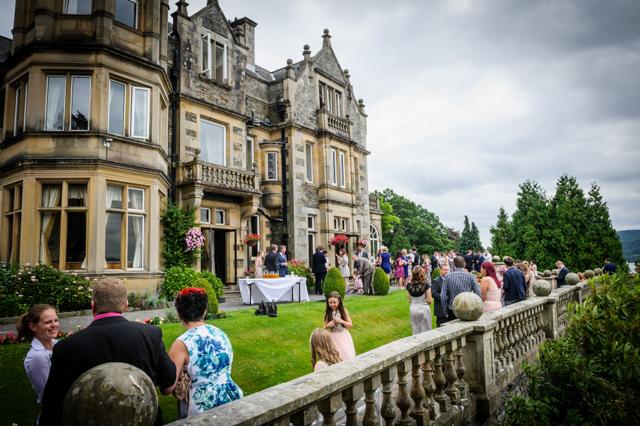 Langdale chase wedding reception