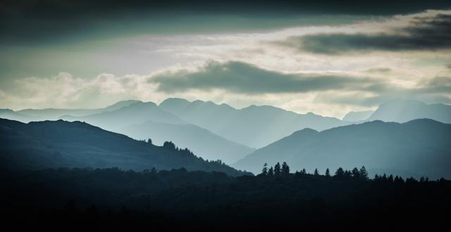 Lake District hils