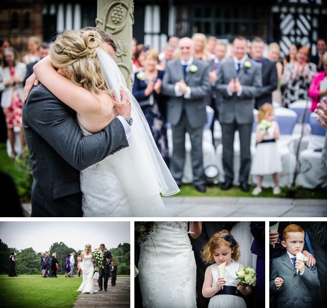 outdoor wedding ceremony cheshire uk