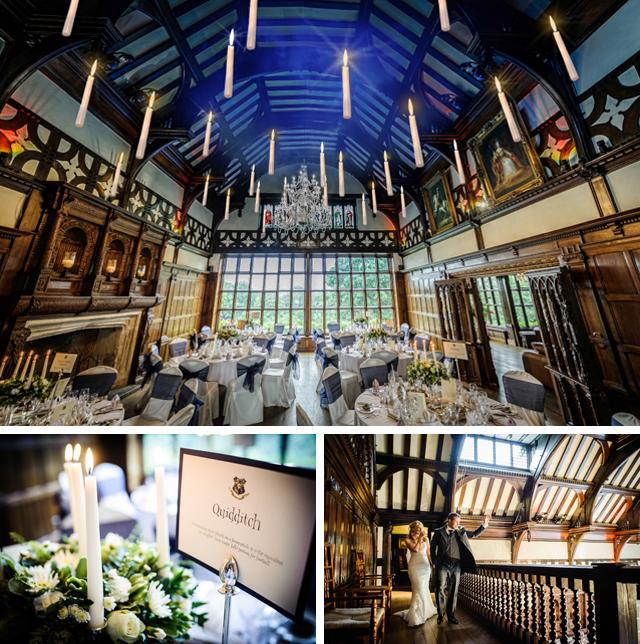 Harry Potter themed wedding reception cheshire uk