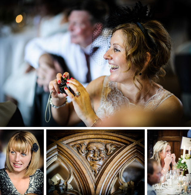 Cheshire wedding speeches and guests