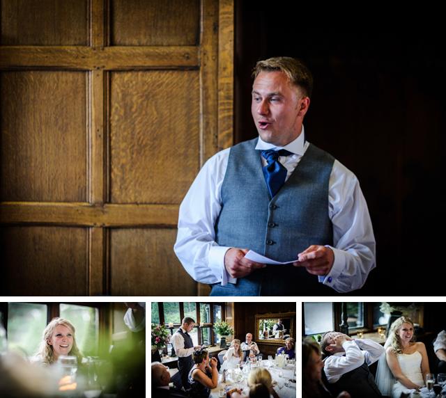 wedding speeches Hillbark wedding