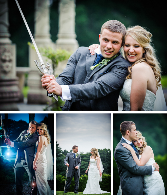 harry potter themed wedding photography