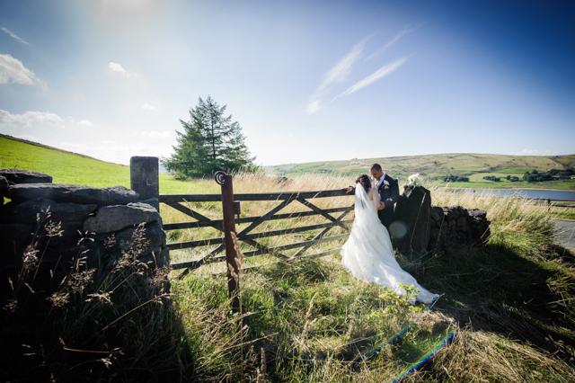 Sunshine and Countryside wedding in Saddleworth • 2013