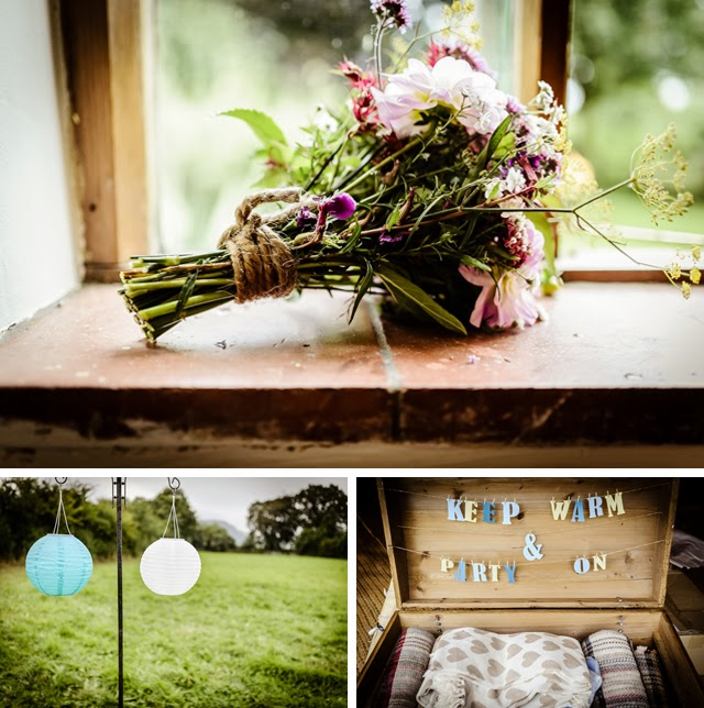 eco wedding with tipis and yurt bridal suite