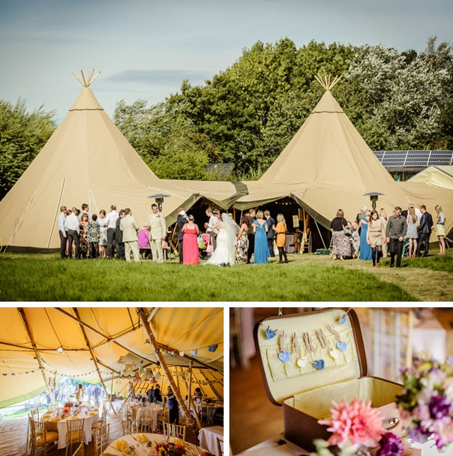 kata tipi and yurt wedding