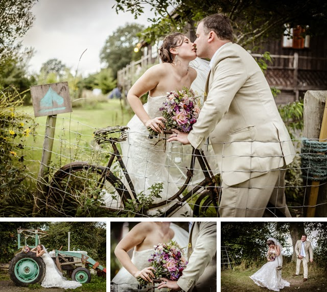 rustic vintage wedding in wales