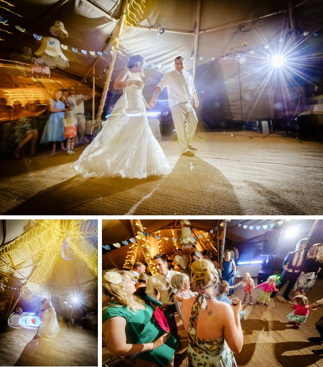 wedding tipi first dance