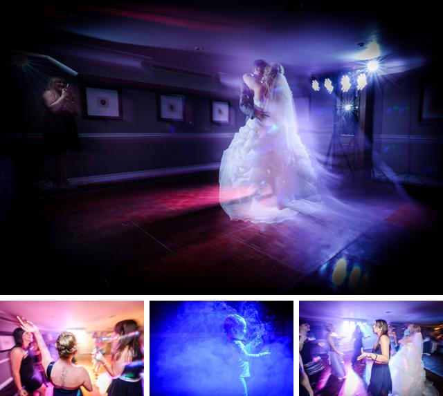 Pinewood Hotel wedding first dance