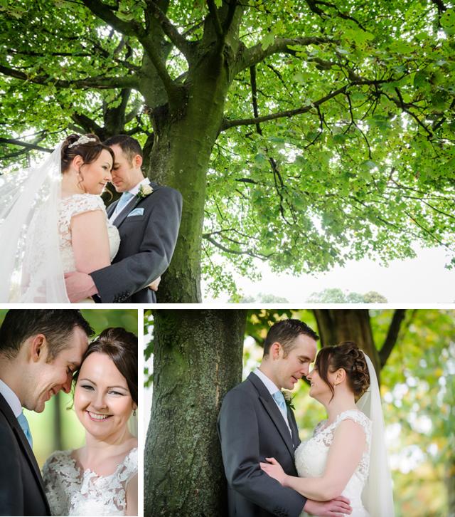 early autumn wedding photos
