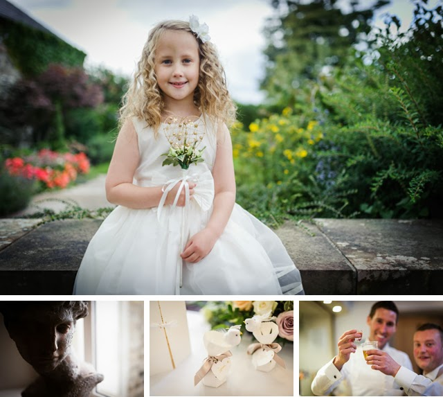 flower girl and wedding details