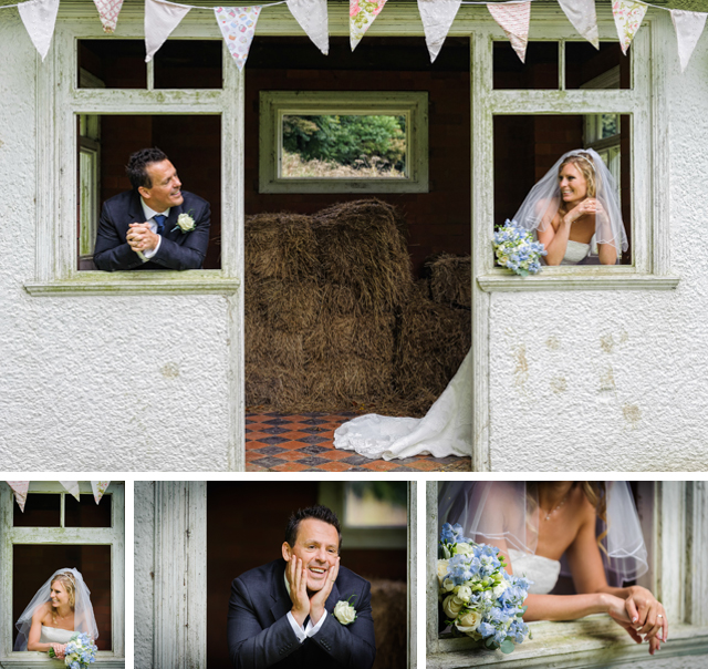 Hargate Hall wedding summer house photo