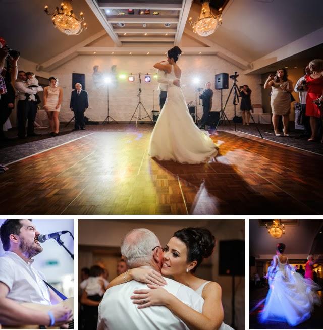 wedding reception stanley house, blackburn first dance