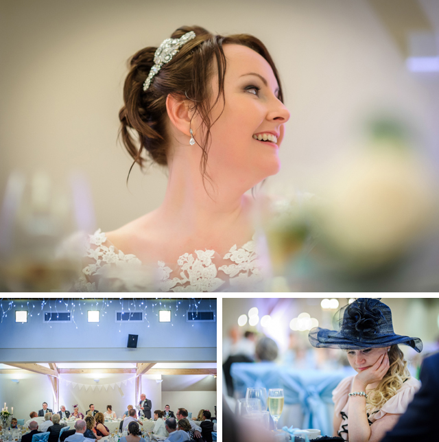 wedding speeches at The White hart lydgate