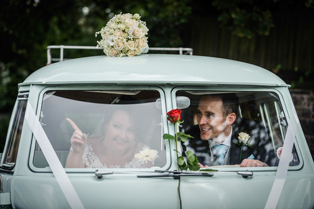 Cool VW Camper wedding • Yorkshire 2013