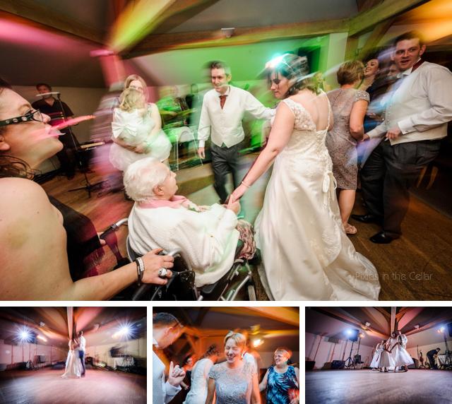 white hart wedding disco