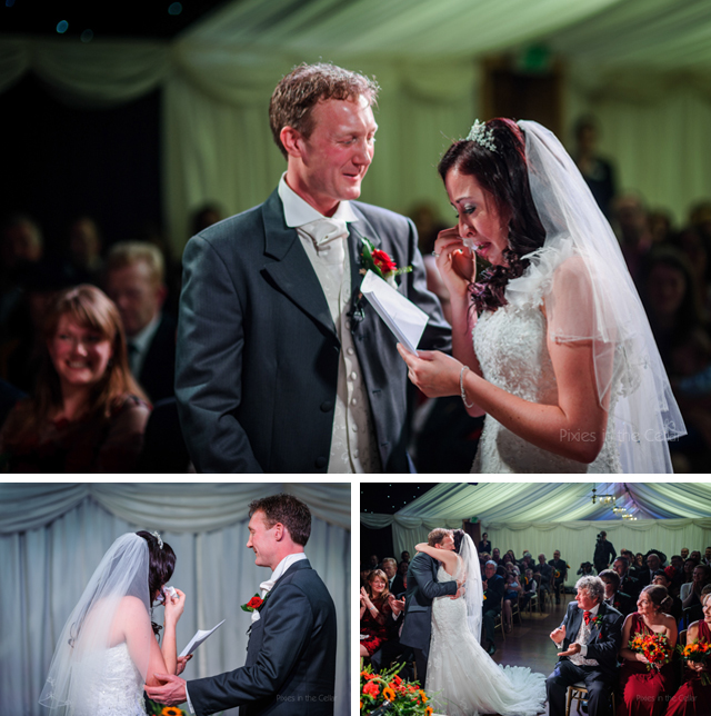heaton house farm wedding ceremony