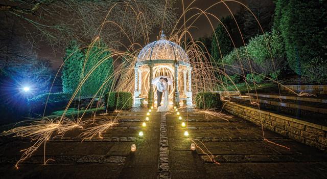 Wedding Photography... adding a little impact