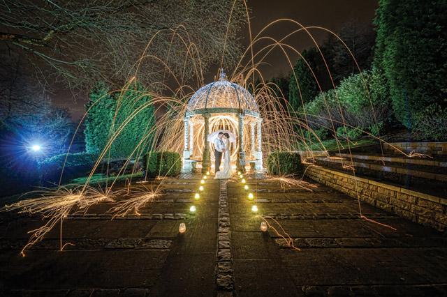 Wedding Photography… adding a little impact