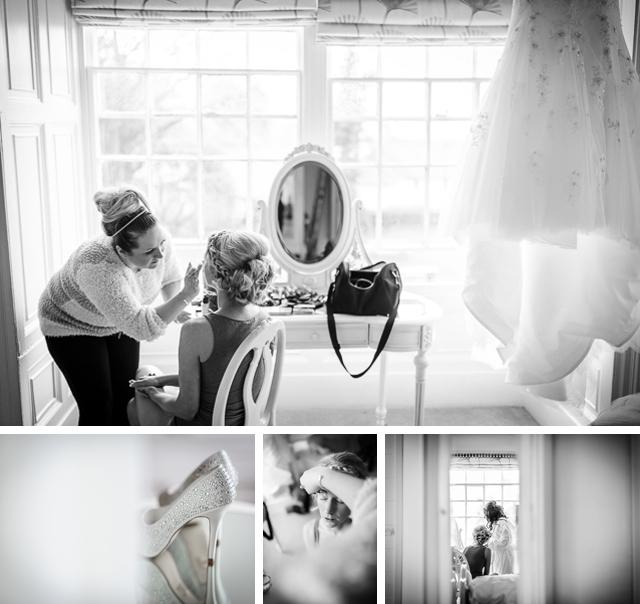 Bridal prep Dale Lodge Hotel Grasmere