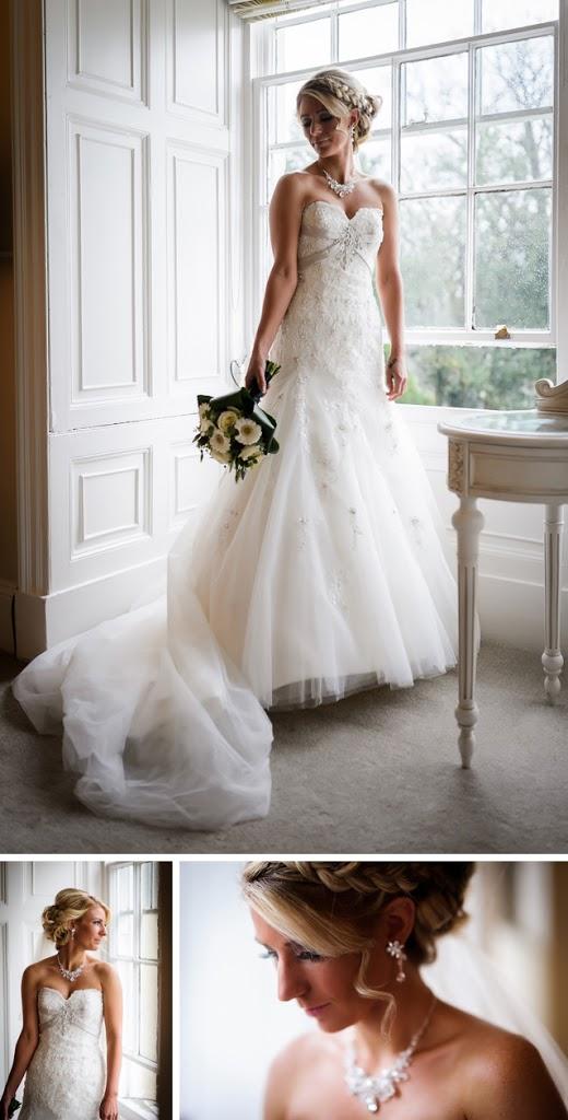 Bride window Dale Lodge hotel wedding