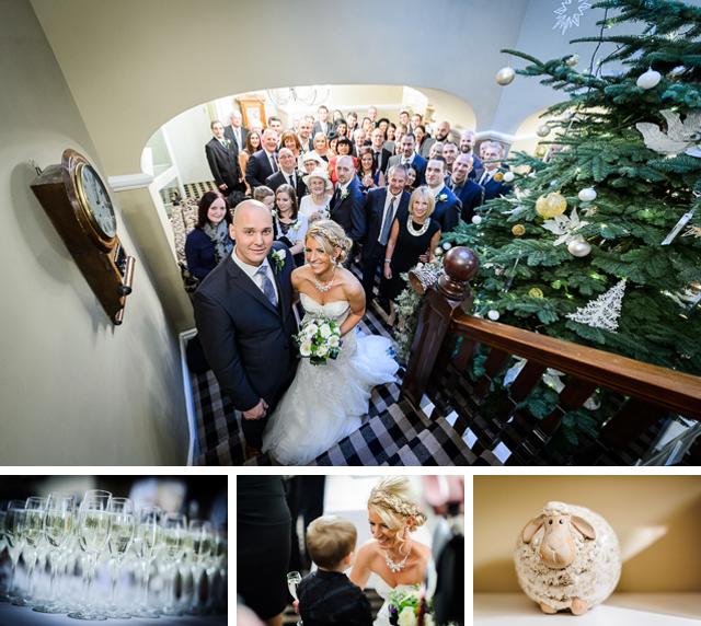 Dale Lodge Hotel winter wedding
