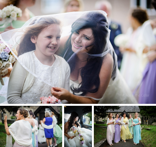 Welsh DIY wedding, documentary photography