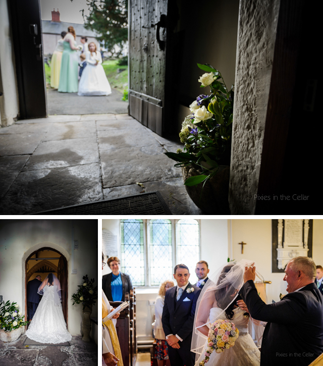 church wedding north wales photographers