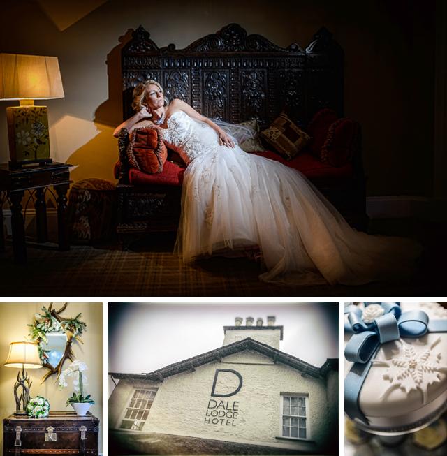 Dale Lodge Hotel December wedding