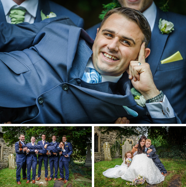 groomsmen wales wedding