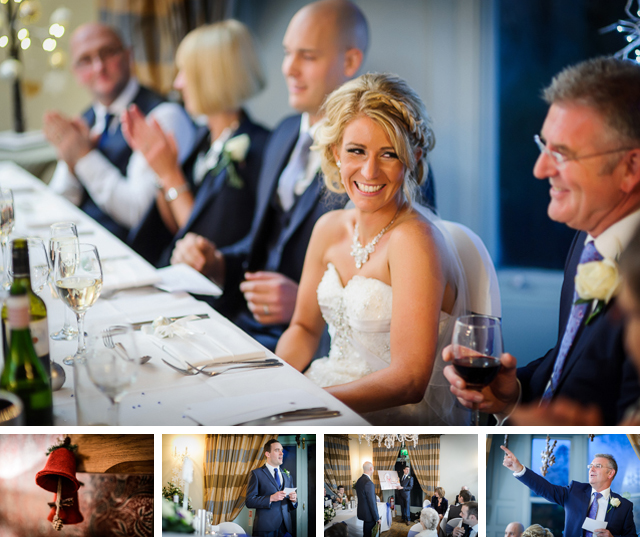 Wedding speeches Dale Lodge Hotel