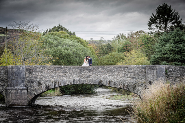 Llanfair Th wedding photography, DIY wedding autumn