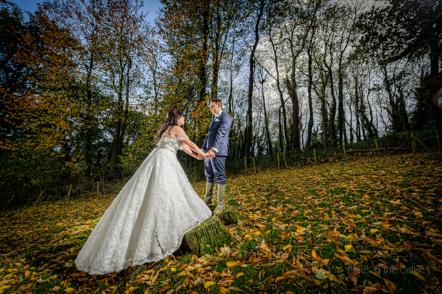 DIY wedding autumn wales