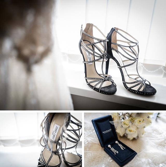 Black Tie Wedding - Jimmy Choos