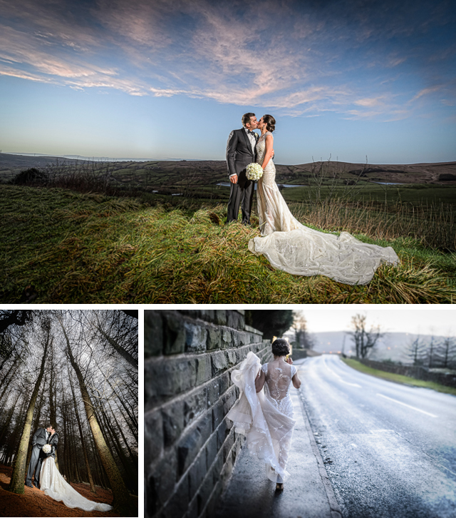 Black Tie Wedding, winter wedding photography