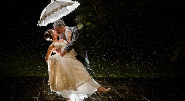 'Art Deco' style Winter Wedding • 2014