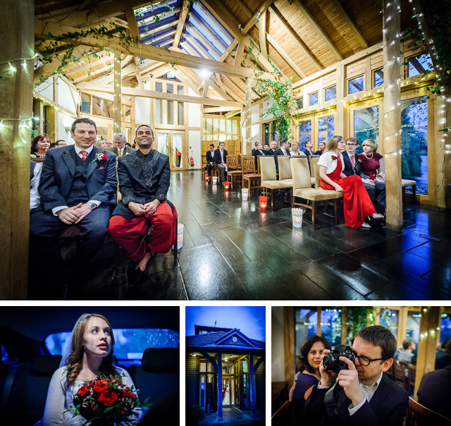 Winter Wedding at Peover Golf Club